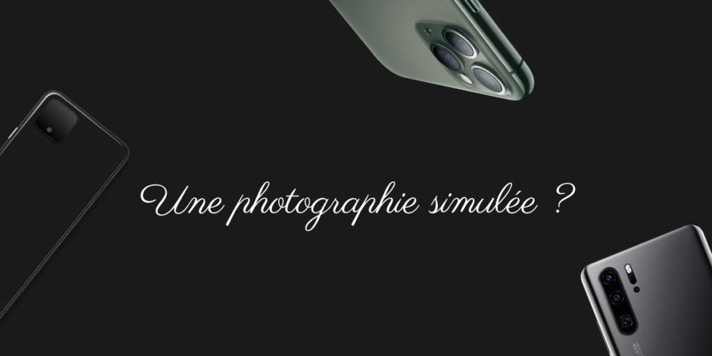 Une photographie simulée ? 1