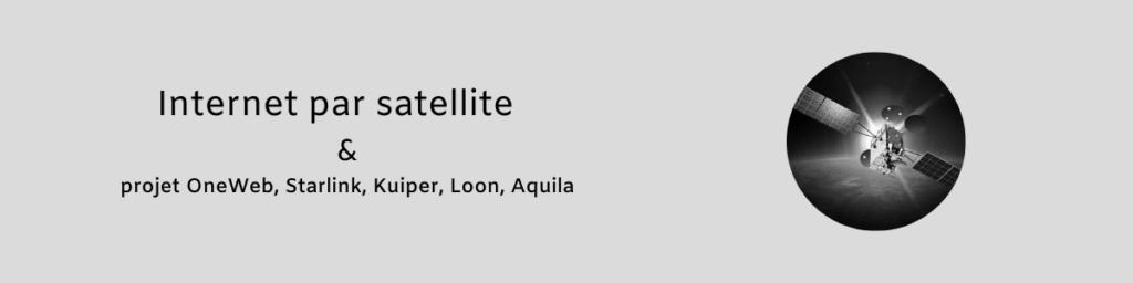Internet par satellite 1