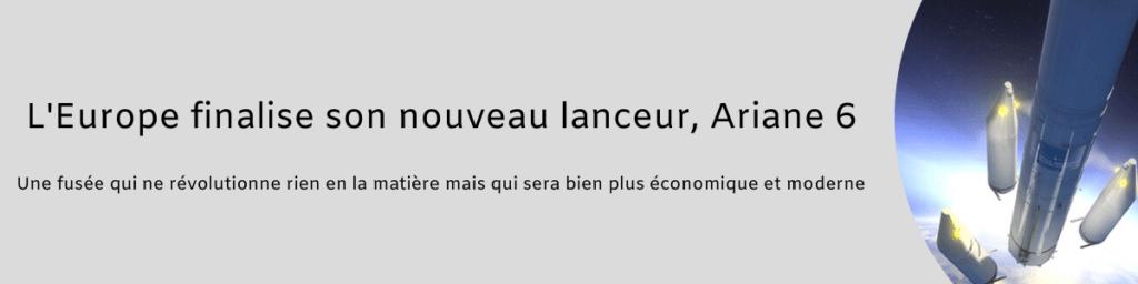 Lanceur Ariane 6 1